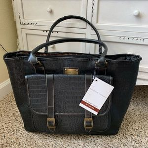 Adrienne Vittadinni Business Travel Black Bag